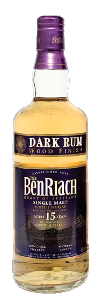BenRiach Dark Rum Finish 15 Yrs